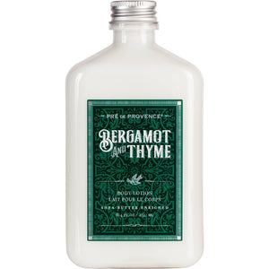 Pre De Provence Bergamot and Thyme Body Lotion, 250ml - - Cerrillos Station | Fine Art Gallery, Native American Jewelry & Shop