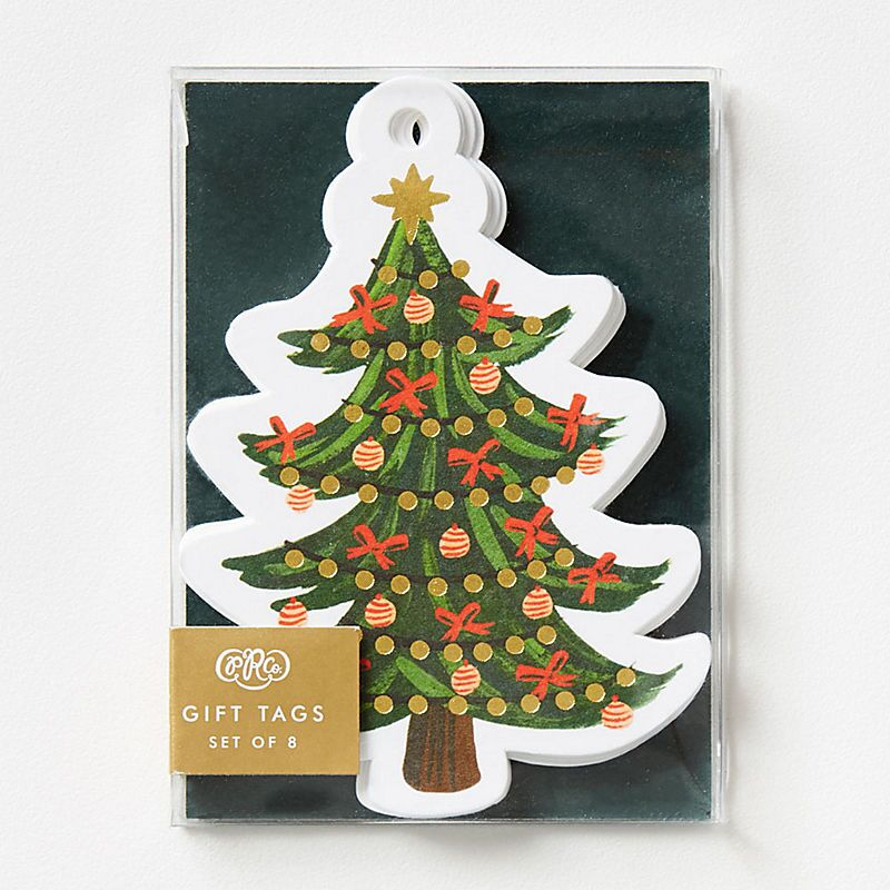 8 Pack Die-Cut Gift Tags