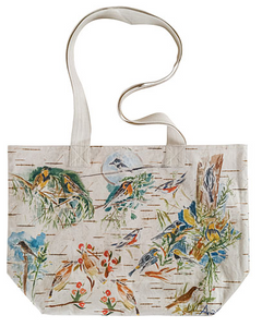 April Cornell - Boreal Birch Birds Market Bag