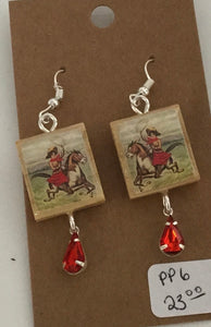 western earrings pp6 - jewelry - Cerrillos Station | Fine Art Gallery, Native American Jewelry & Shop