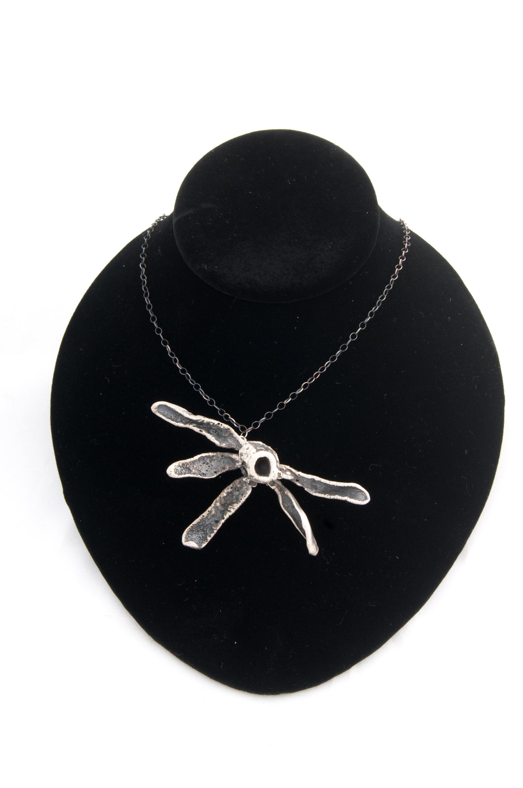 5 Petal Flower LS16 - Necklaces - Cerrillos Station | Fine Art Gallery, Native American Jewelry & Shop