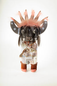 Ogre Kachina ART-BAR-PK4 - Poleyestewa Kachina - Cerrillos Station | Fine Art Gallery, Native American Jewelry & Shop
