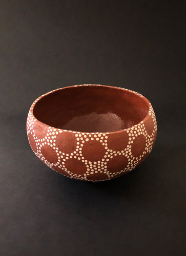 Stippled Vessel, By Puck Hogenboom - Ceramic Sculptures - Cerrillos Station | Fine Art Gallery, Native American Jewelry & Shop