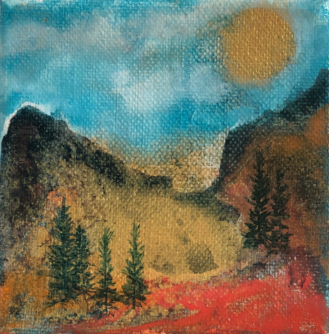 Miniature Oil Original Painting 4