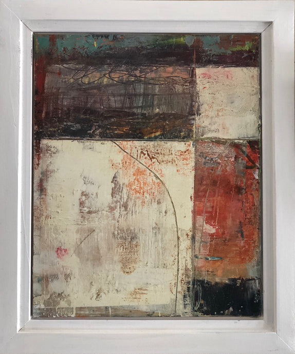 'Abstract #3' by Dominique Samyn - Art - Cerrillos Station | Fine Art Gallery, Native American Jewelry & Shop