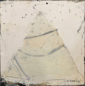 'White On White' by Dominique Samyn - Art - Cerrillos Station | Fine Art Gallery, Native American Jewelry & Shop