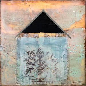 'Green House' by Dominique Samyn - Art - Cerrillos Station | Fine Art Gallery, Native American Jewelry & Shop