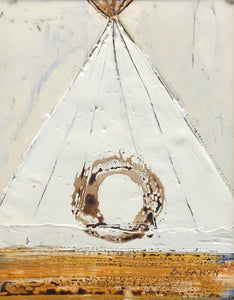 'Twine Tepee' by Dominique Samyn - Art - Cerrillos Station | Fine Art Gallery, Native American Jewelry & Shop