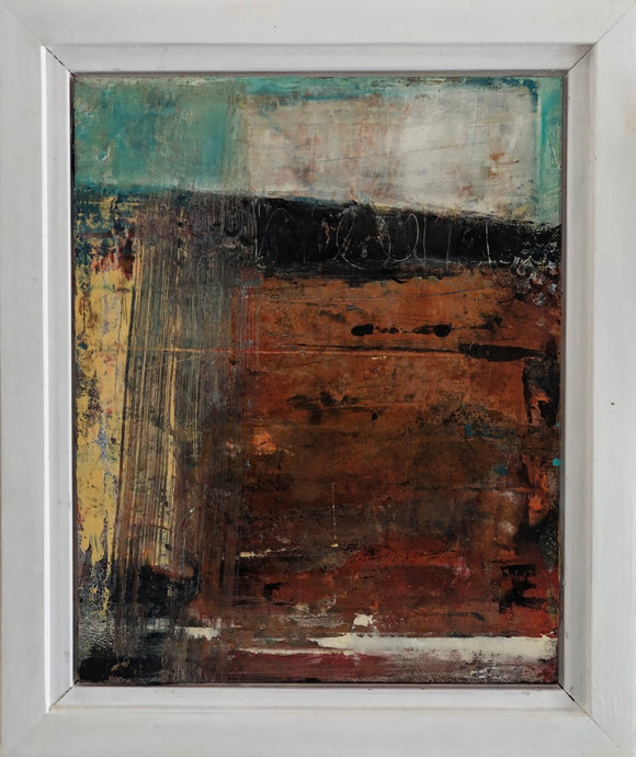 'Abstract #4' by Dominique Samyn - Art - Cerrillos Station | Fine Art Gallery, Native American Jewelry & Shop