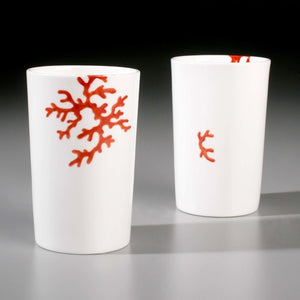 Yuki Murata Coral Dinnerware - Art - Cerrillos Station | Fine Art Gallery, Native American Jewelry & Shop