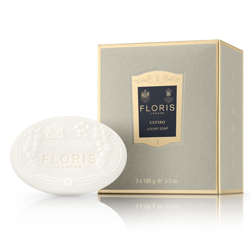 Floris Luxury Soap, Cefiro - Skin Care - Cerrillos Station | Fine Art Gallery, Native American Jewelry & Shop