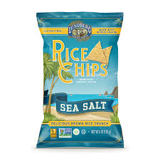 Lungberg Rice Chips Sea Salt