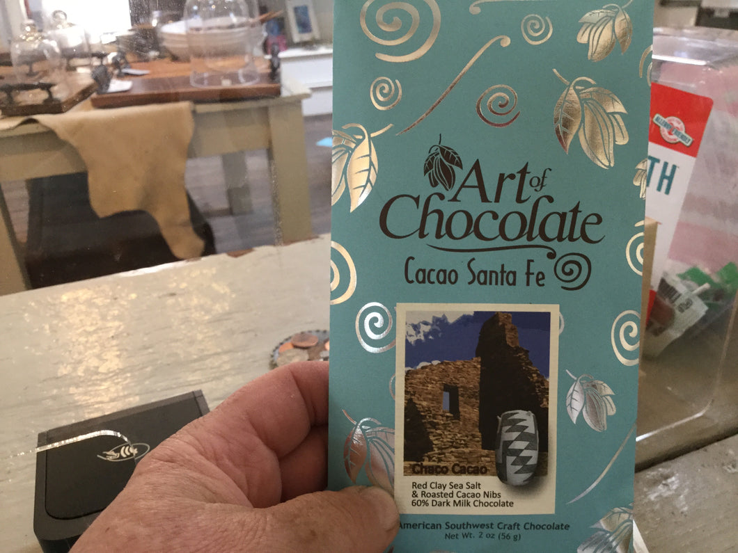 Art of Chocolate, 2oz - chocalate bars - Cerrillos Station | Fine Art Gallery, Native American Jewelry & Shop
