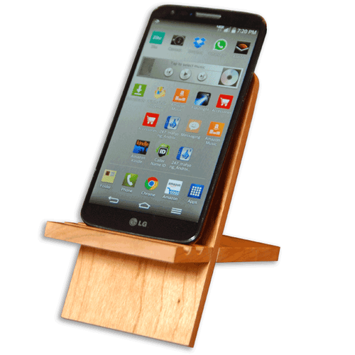 WinWood Designs-Phone and Tablet Stand - Woodwork - Cerrillos Station | Fine Art Gallery, Native American Jewelry & Shop
