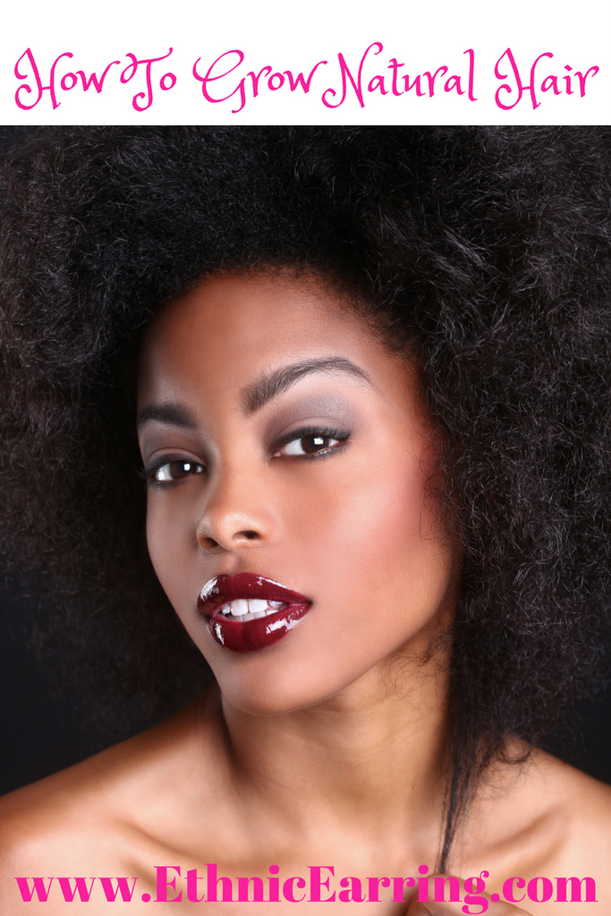 How to grow your natural hair