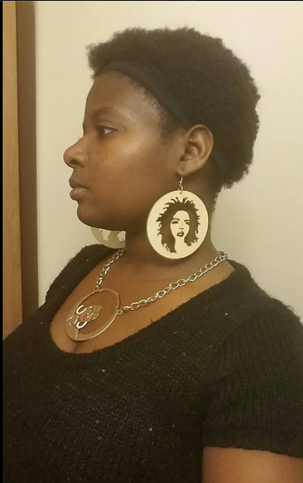Miseducation earrings - Queen Tambrisha