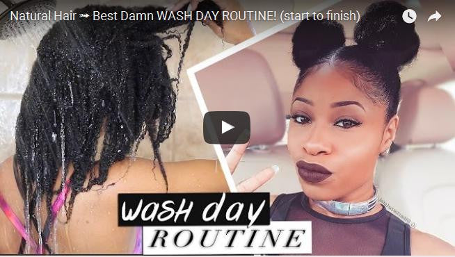Wash day - The Chic Natural's wash day routine