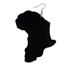 Map of Africa Earrings