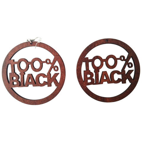 100% black earrings; natural hair earrings; afrocentric accessories; afrocentric earrings; african american earrings; african fashion afro african jewelry fashion twa earrings brown earrings