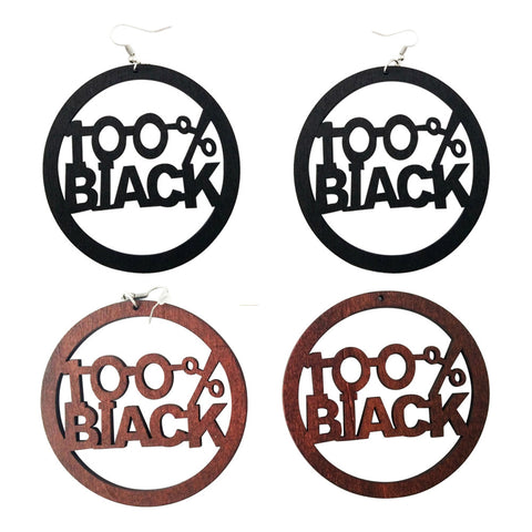 100% black earrings; natural hair earrings; afrocentric accessories; afrocentric earrings; african american earrings; african fashion afro african jewelry fashion twa earrings
