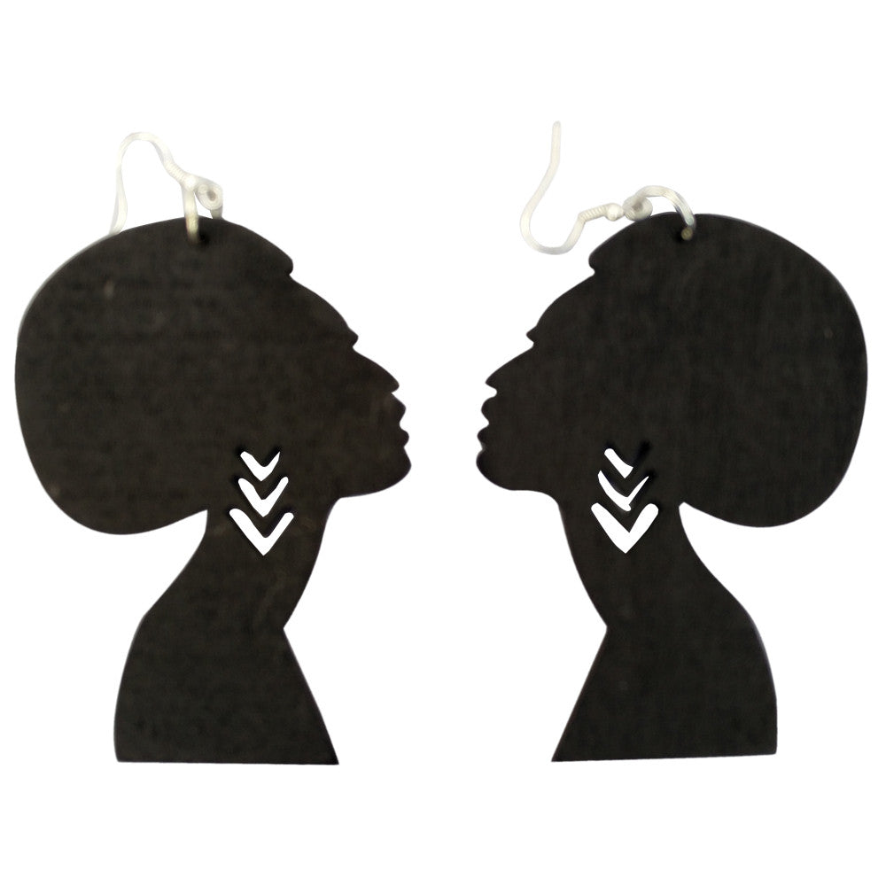 Natural Hair Earrings And Afrocentric Accessories