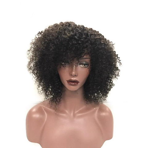 lace front human hair wigs virgin 130 density 150 closure 100% 7a grade excellent quality quick shipping no shedding USA black owned business wigs