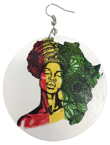 africa earrings afrocentric accessories natural hair jewelry rasta accessory pan african jewellery cheap cute affordable afro centric