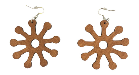 light brown adinkra symbol earring natural hair accessories afrocentric jewelry african earrings, ashanti earrings, jewelry, jewelries, accessories, affordable earrings, amazon cheap earrings, etsy earrings