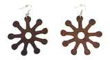 dark brown adinkra symbol earring natural hair accessories afrocentric jewelry african earrings, ashanti earrings, jewelry, jewelries, accessories, affordable earrings, amazon cheap earrings, etsy earrings