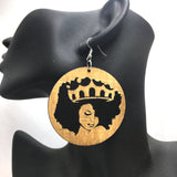 pam natural hair earrings afrocentric jewelry ear ring accessories fashion outfit clothing accessory woman lady black african american christmas gift idea kwanzaa birthday girl women