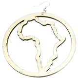 africa earrings, africa shaped earrings, map of africa earrings, natural hair earrings, afrocentric earrings, african jewelry