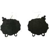 afro earrings; afrocentric earrings; afrocentric jewelry; afro pick earrings; afro pic earrings; natural hair earrings;