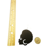 afro earrings | natural hair earrings | afrocentric earrings