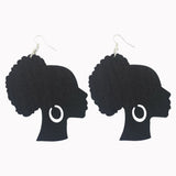 afro earrings | Afrocentric earrings | natural hair earrings