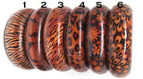 afrocentric wooden bracelets pro black bangles animal print jewelry snake skin accessories leopard peacock pattern accessory jewelry