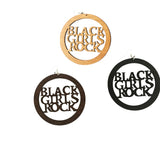 black girls rock, black girls rock earrings, natural hair earrings, afrocentric earrings, afrocentric jewelry, natural hair jewelry, afrocentric fashion, natural hair fashion, afrocentric clothing, natural hair clothing, afrocentric accessories, natural hair accessories, wooden earrings, twa earrings
