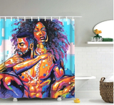 afrocentric home decor african shower curtains wall art and style pro black household items decorations american bedding cheap cute affordable feminine urban womens woman women ladies apartment home apt house ideas gift christmas kwanzaa birthday anniversary warming dorm help black power couple romantic sexy