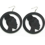 small braided up do earrings | natural hair earrings | afrocentric earrings | afrocentric jewelry | afrocentric fashion | afro earrings | accessories | afrocentric clothing