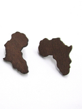 africa earrings; africa shaped earrings; africa jewelry; map of africa earrings; acrylic africa earrings; natural hair earrings; africa map earrings; afrocentric earrings;