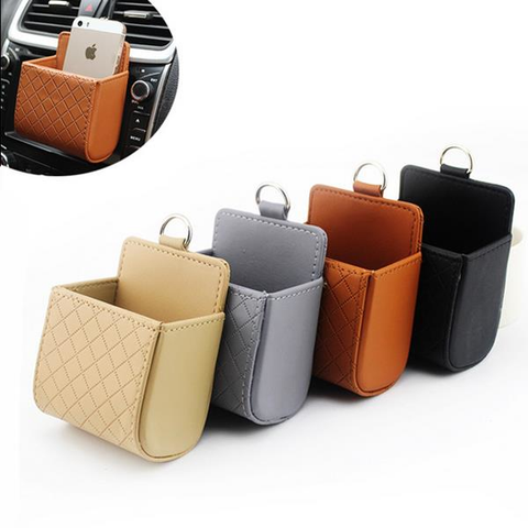 car auto automobile storage organizer hanging multi multiple function phone bag ditty air vent