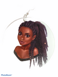 dread lock earrings pony tail woman jewelry locs sisterlocks sisterlocs dreadloc dreadlocs accessories fashion outfit idea unique cute cheap locks free form