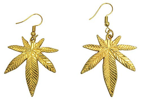 Mary Jane Earrings - Silver or Gold Color - 420 Friendly Jewelry accessories