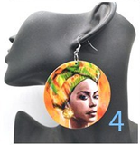 headwrap earrings series natural hair jewelry afrocentric jewellery afro accessories african accessory fashion outfit clothing idea ear candy head wrap turban