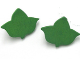 aka ivy leaf green earrings maple sorority jewelry natural hair afrocentric hbcu crossing burning sands gift idea present