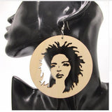 lauryn hill earrings natural hair earrings afrocentric earring hip hop jewelry fashion clothing accessories