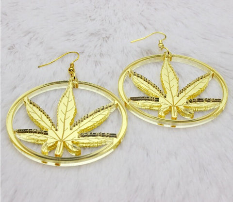marijuana earrings marihuana cannibis 420 friendly mary jane j ear rings jewelry accessories stoner gift idea weed