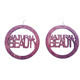 natural beauty earrings | Afrocentric earrings | natural hair earrings