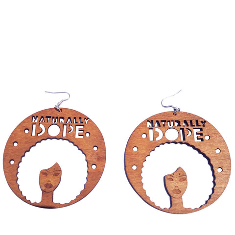 naturally dope earrings | Afrocentric earrings | natural hair earrings | afrocentric clothing | afrocentric fashion | afrocentric jewelry | afro earring