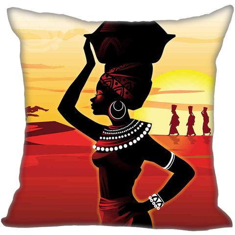 Nubian Queen Pillow Case Cover - Home Decorations