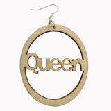 Queen earrings | Afrocentric earrings | natural hair earrings | Afrocentric jewelry | afrocentric accessories |